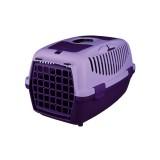 Trixie Переноска для собак Capri 2 (размер XS-S: 37х34х55 см, до 8 кг) сиреневый / фиолетовый