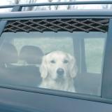 Trixie вентиляционная авторешётка д/окна, 24-70см,чёрный