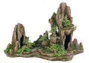 Trixie декоративная скала с растениями (большая)