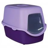 """Trixie туалет-домик д/кота""""Vico""""40х40х56см,фиолетовый / сиреневый"""