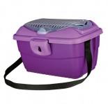 "Trixie переноска для собак ""Mini-Capri"" 40х22х30 см, фиолет"