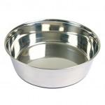 миска для собак (металл) 2,5 л Ø24 см, основа резина