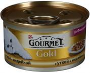 Gourmet Gold З качкою, індичкою.Шматочки 85 г