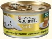 Gourmet Gold З кроликом. Шмат у паштеті 85 г