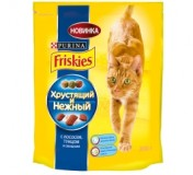 Сухой корм для кошек - Friskies З лососемта овочами 400 г