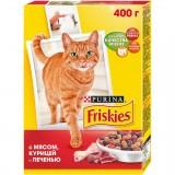 Friskies З м'ясом, куркою, печінкою 400 г