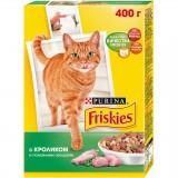 Сухой корм для кошек - Friskies Кролик, Курица и Овощи 400 гр