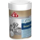 8in1 пивные дрожжи с чесноком Excel Brewers Yeast для собак и кошек (260 таблеток)