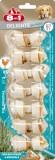 8in1 Кости д/чистки зубов с мясом (7 шт), XS /7 см