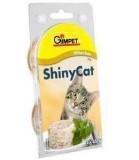 Gimpet Влажный корм для кошек Shiny Cat курица (70 г)