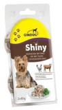 Gimpet Shiny Dog  курица, говядина, кусочки 2х85 гр.