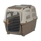 """Переноска для собак """"Skudo 5"""" (размер M - 59×65×79 см, до 35 кг) коричневый / песочный"""