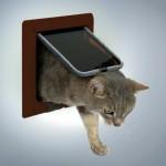 "Trixie дверца для кота ""De Luxe"" (бордовая)"