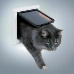 Trixie дверца для крупных котов и мелких собак