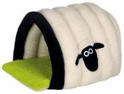 "Trixie Домик ""Shaun the Sheep""  (45х35х50 см) кремовый с зеленым"