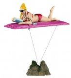 Trixie Купальщица на матраце с якорем 16см