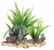 Trixie Растение пластик. на каменной подложке 18см