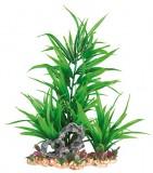 Trixie Растение пластик. на каменной подложке 28см зеленое