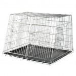 клетка-переносная двухместная для собак 79/48х93х68 см