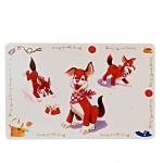 """Trixie Коврик под миску""""Comic dog"""" 56x38см"""