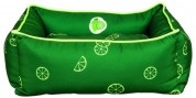 """Лежак """"Fresh Fruits"""" (60х50 см) темно-зеленый"""