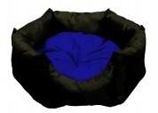 """МиС КиС Мягкое место """"Бритни"""" (45х45х22 см) черный с синим"""