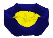 "МиС КиС Мягкое место ""Бритни"" (45х45х22 см) синий с желтым"