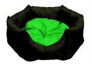 "МиС КиС Мягкое место ""Бритни"" (45х45х22 см) черный с зеленым"