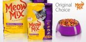Сухой корм для кошек - Meow Mix Original 1 кг