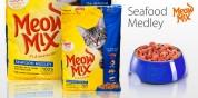 Сухой корм для кошек - Meow Mix Sea 6,44 кг