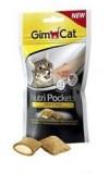 Gimpet Nutri Pockets д/кошек Сыр + Таурин 60г
