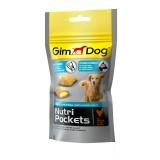 Gimpet подушечки для собак Nutri Pockets Agile (45 г) с глюкозамином и витаминами группы В (для суставов)