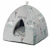 """Trixie Домик для котов """"Paris"""" (42х37х42 см)  серый"""