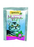 Природа Шампунь Мурзик 15мл антиблошиный для кошек