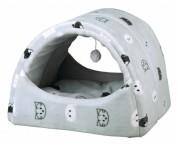 """Trixie Домик-туннель для котов """"Mimi""""  (42х35х35 см) серый"""