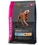 Eukanuba корм для взрослых собак  крупных пород  ягненок /рис 2,5 кг