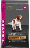 Eukanuba корм для взрослых  собак мел/срд пород ягн/рис 12 кг