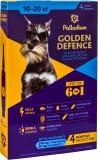 Средства от блох и др паразитов для собак - Palladium Golden Defence капли на холку для собак весом от 10 до 20 кг, 1 пипетка