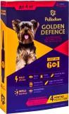 Средства от блох и др паразитов для собак - Palladium Golden Defence капли на холку для собак весом до 4 кг, 1 пипетка