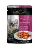 Edel Cat влажный корм для кошек ЛОСОСЬ И КАМБАЛА в желе (100 г) пауч