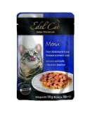 Edel Cat Cat влажный корм для кошек ЛОСОСЬ И ФОРЕЛЬ в соусе (100 г) пауч