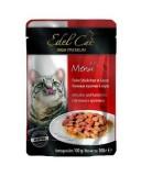 Edel Cat влажный корм для кошек ПЕЧЕНЬ И КРОЛИК в соусе (100 г) пауч