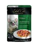 Edel Cat влажный корм для кошек УТКА И КРОЛИК в соусе (100 г) пауч