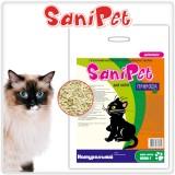 Природа Наполнитель древесный SANI PET для кошек НАТУРАЛЬНЫЙ (2,5 кг)