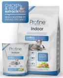 Сухой корм для кошек - PROFINE Cat Indoor 3 кг, курица д/выведения шерст.комочков