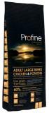 PROFINE сухой корм для взрослых собак крупных пород Adult Large Breed (15 кг) с курицей