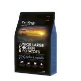 Сухой корм для собак - PROFINE Junior Large Breed Chicken 15 кг, курица д/щенков и юниоров крупных пород