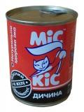 МиС КиС Мясные деликатесы Мис Кис с дичью в желе 370 мл жесть
