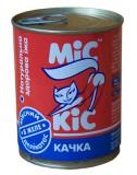 МиС КиС Мясные деликатесы Мис Кис с уткой в желе 370 мл жесть