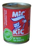 МиС КиС Мясные деликатесы Мис Кис с  мясом и овощами в желе 370 мл жесть